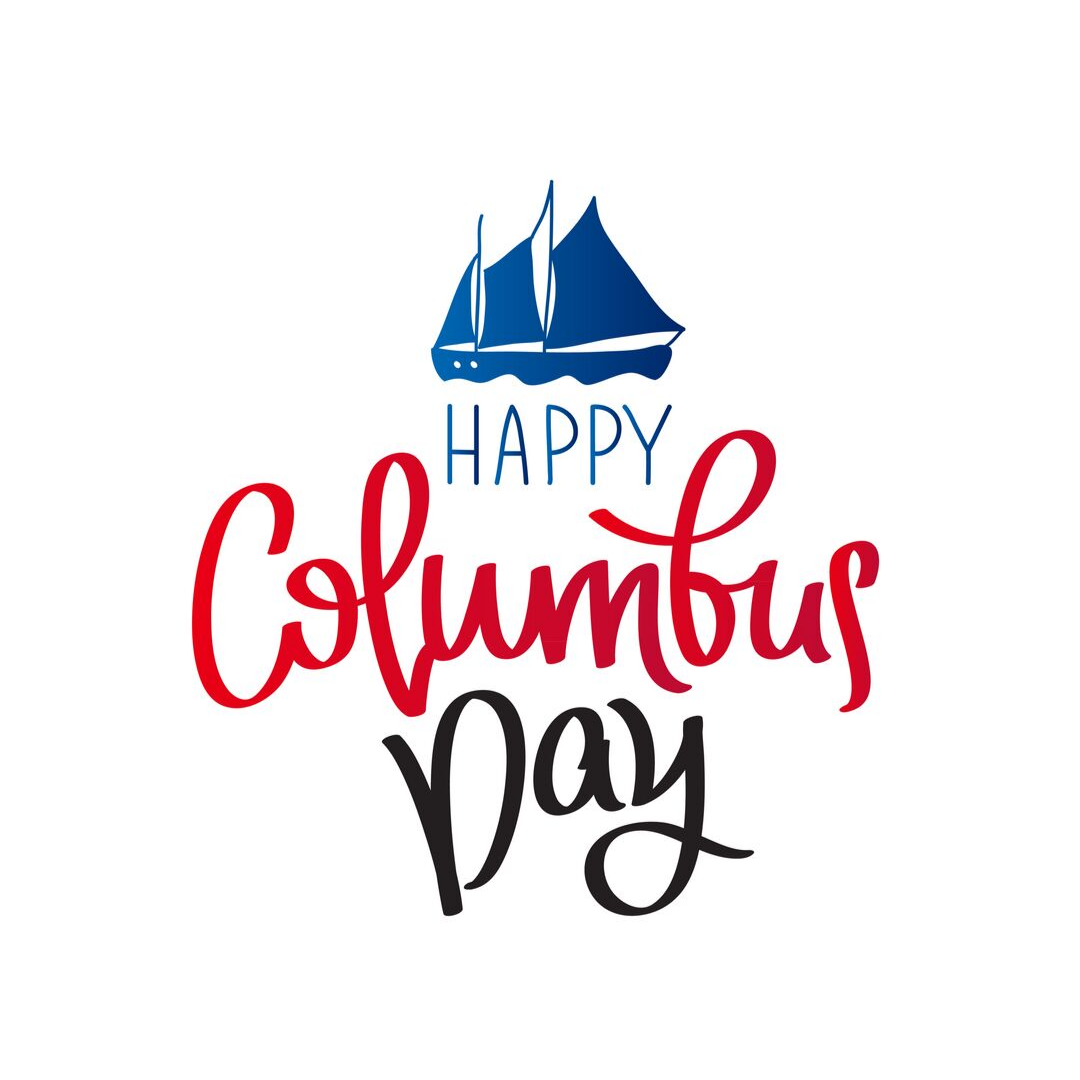 Happy Columbus Day Happy Columbus Day Columbus Day 2020 Columbus Day Clipart