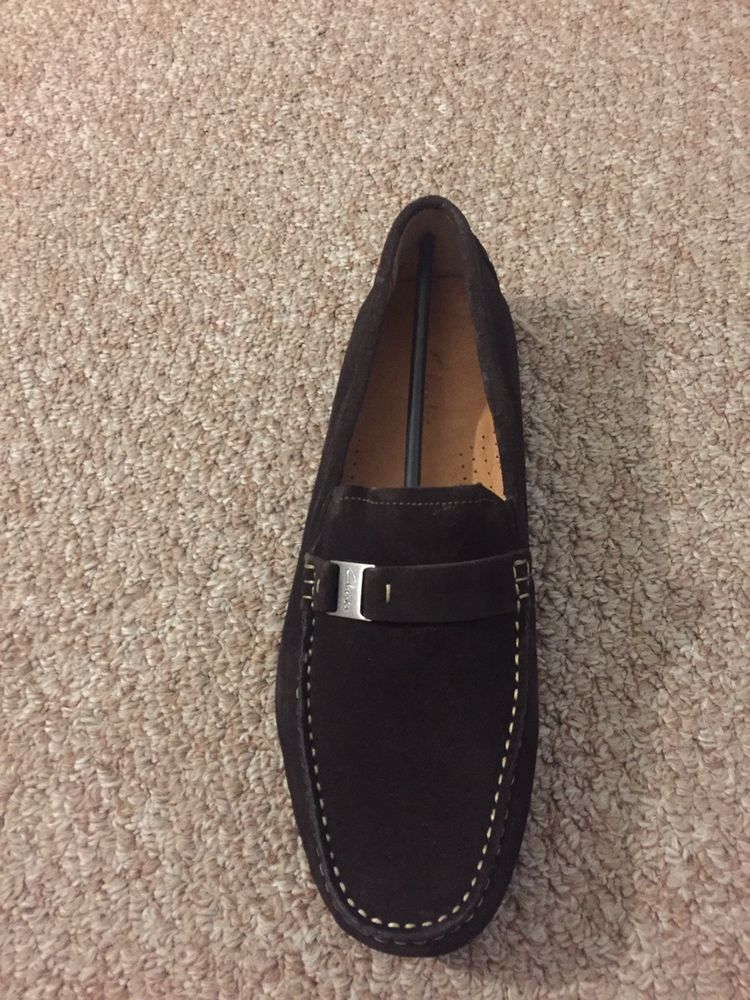 31396ad8f300c Clarks loafer Brown Suede men 11:5m #fashion #clothing #shoes ...