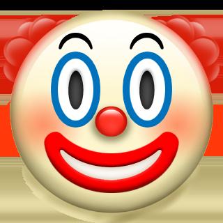 Os novos emojis da Apple estão aqui e são maravilhosos!! | Rosto de palhaço, Ios emoji, Emojis novos