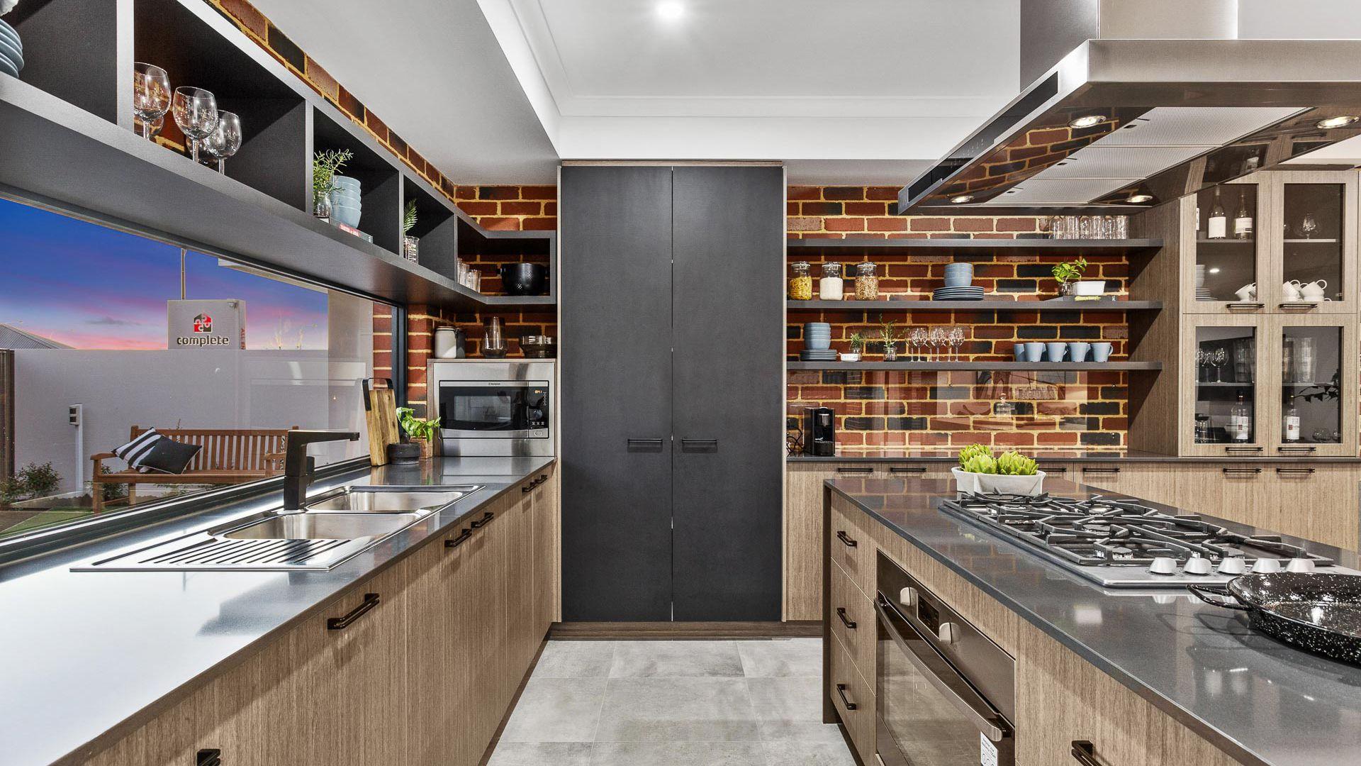 manhattan kitchen space display home complete homes kitchen
