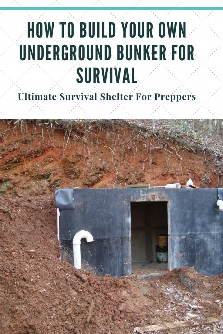 How to build your own underground bunker root cellar for survival survival shelter prepperideas preppergear survivalskills survivalprepping