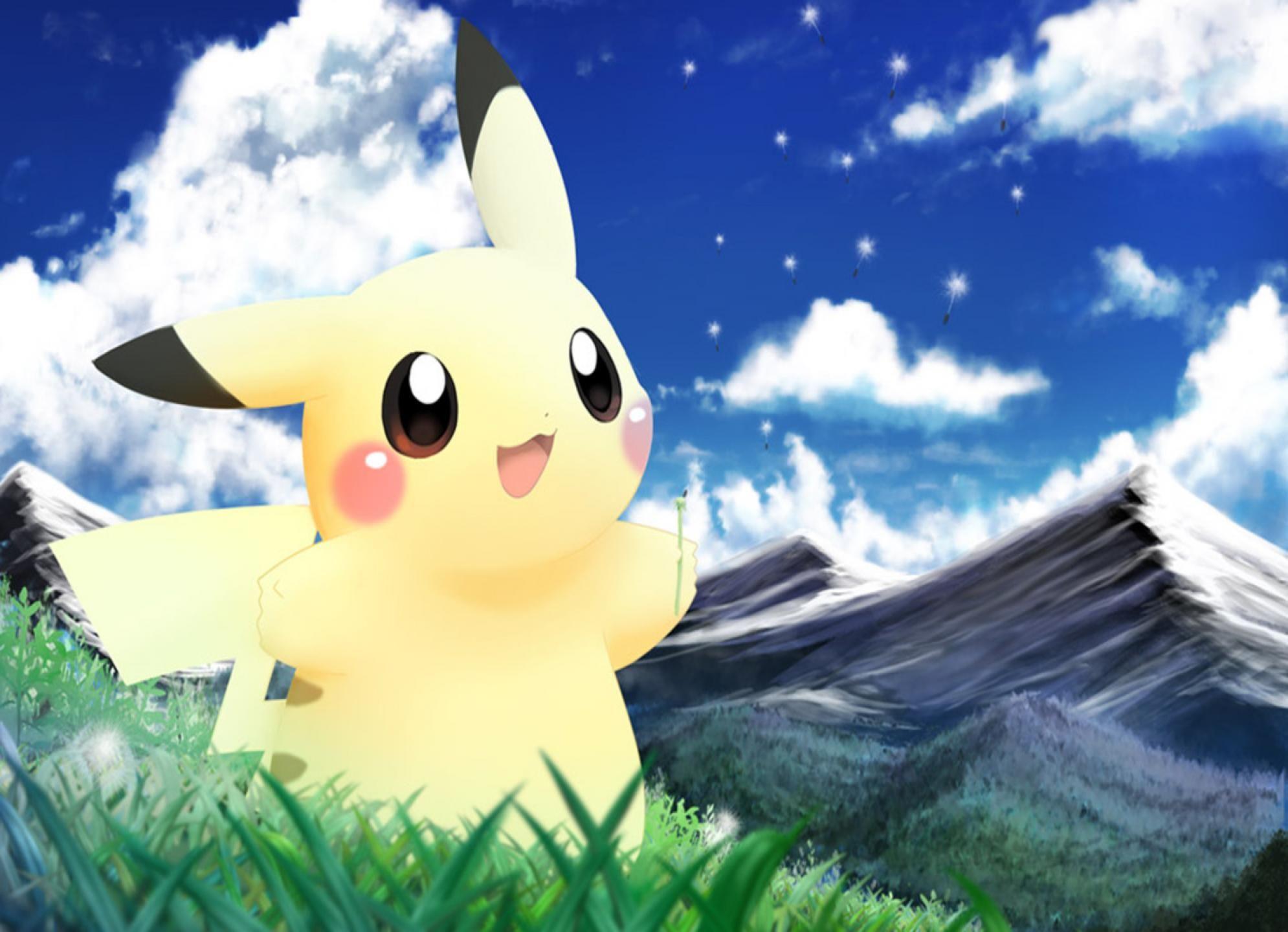 Cute Pikachu Wallpaper cutepikachuwallpaper5119hd