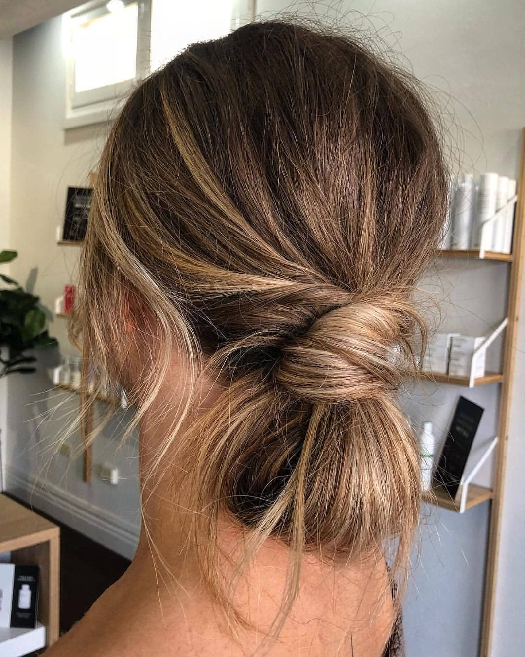 17 Fetching Hairstyles Updo Casual Highlights To Sport This Season Bridemaids Hairstyles Braided Hairstyles Updo Casual Hair Updos
