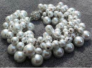 Chanel Inspired Pearl Bracelet アクセサリー 手作り ビーズ