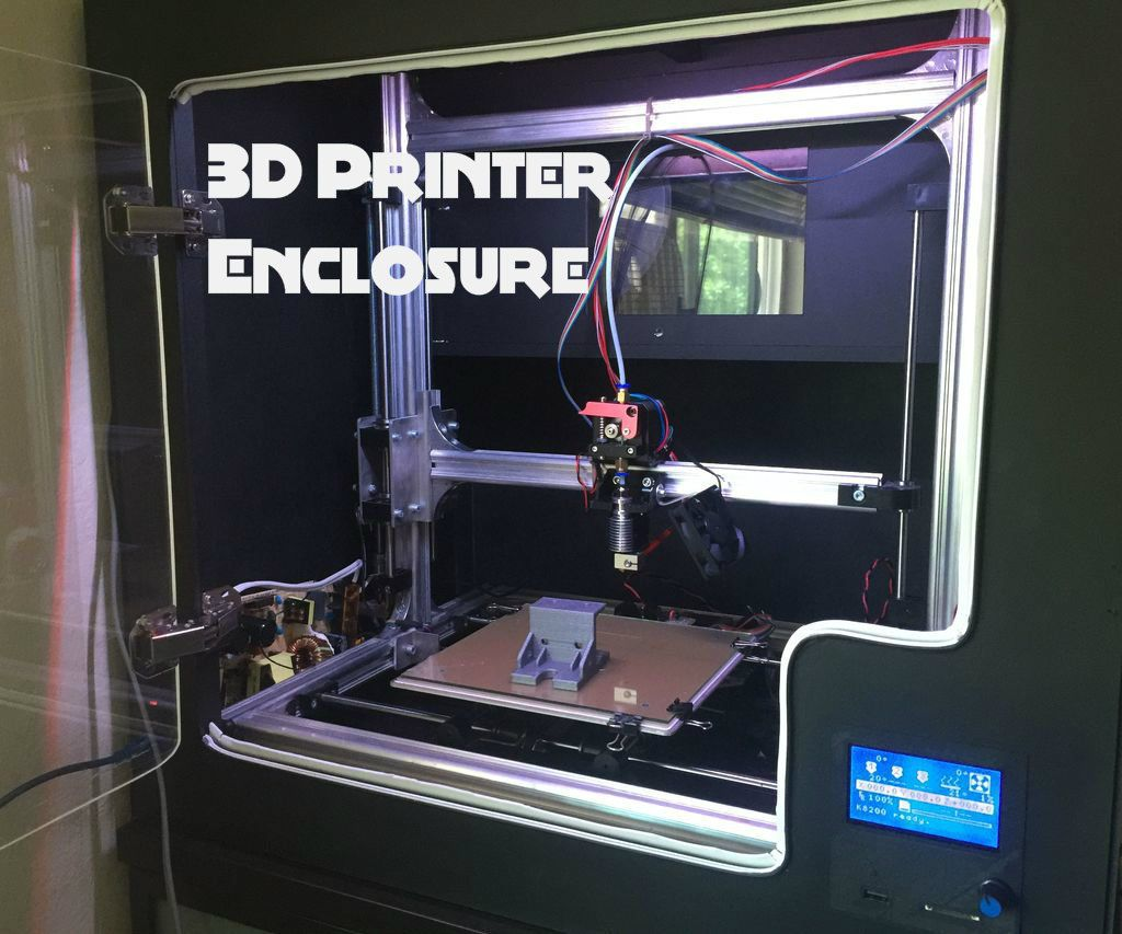 Diy 3d printer enclosure 3d printer enclosure 3d