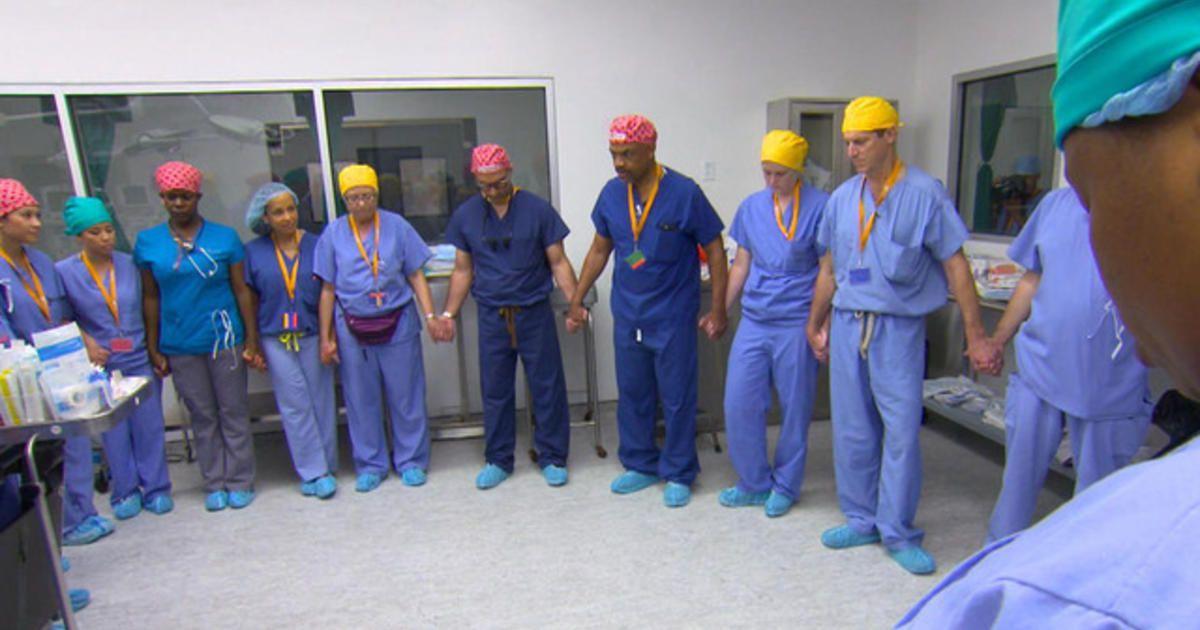 Before this seven hour surgery twenty four member team
