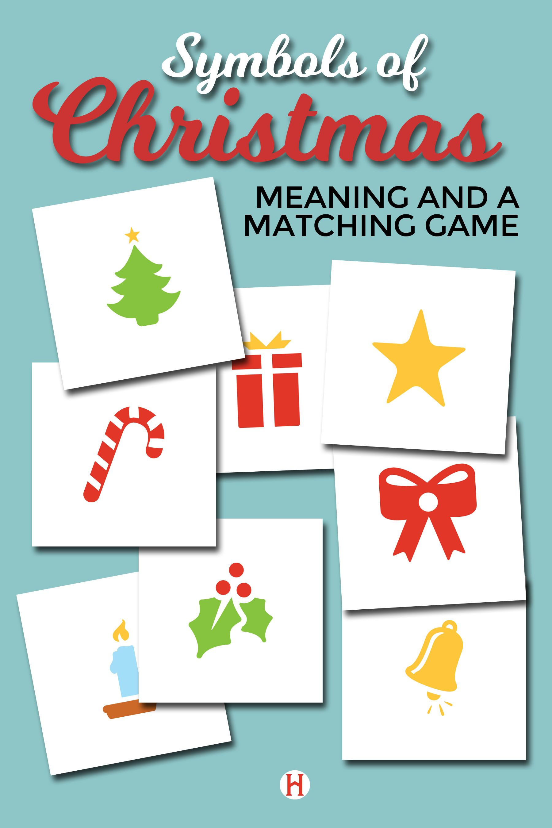 Symbols Of Christmas Matching Game