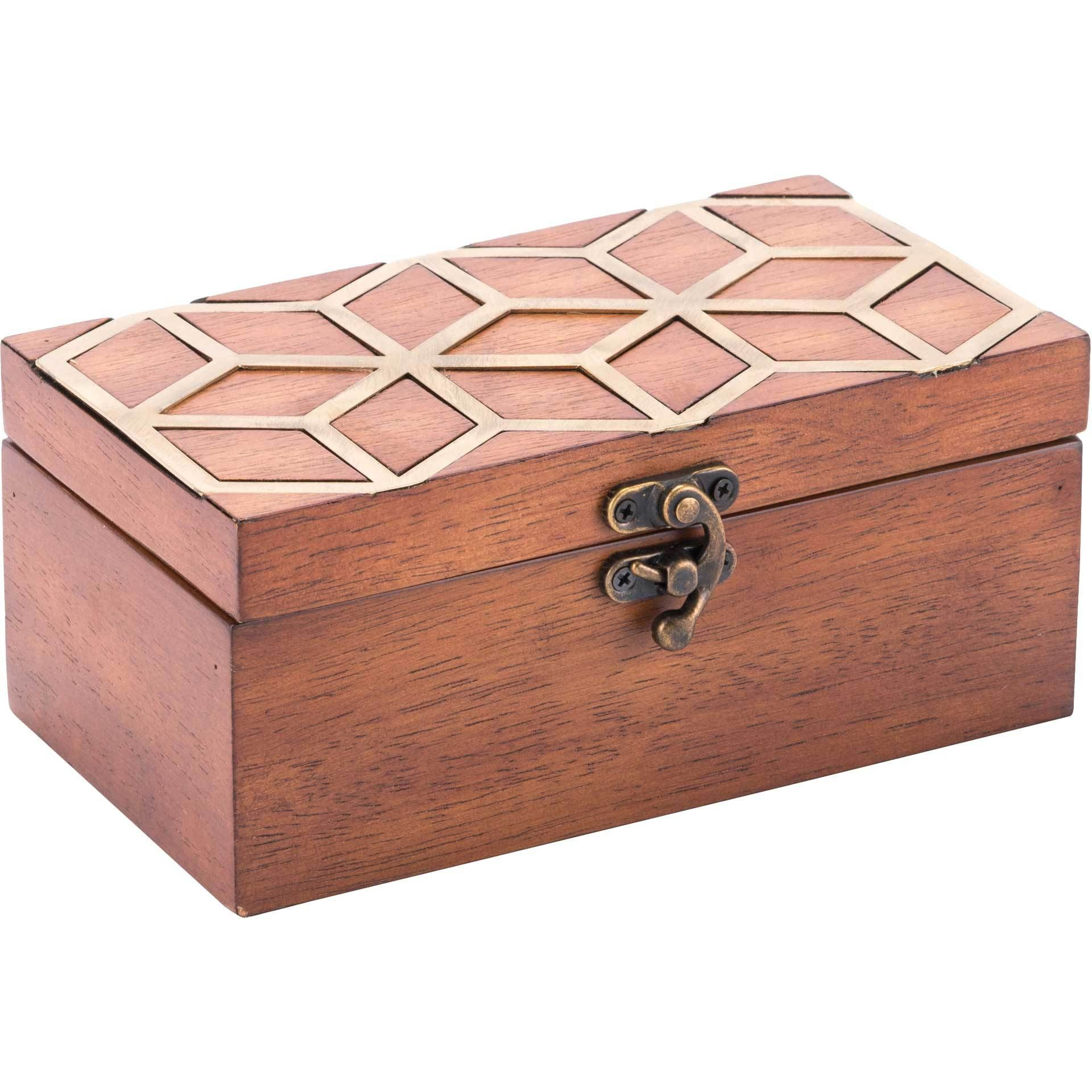 Clover Box Brown In 2021 Decorative Boxes Wooden Jewelry Boxes Wooden Jewelry
