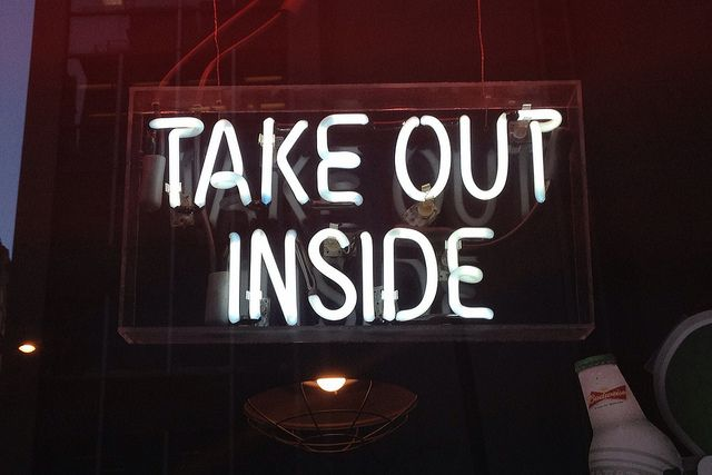 Take out inside.