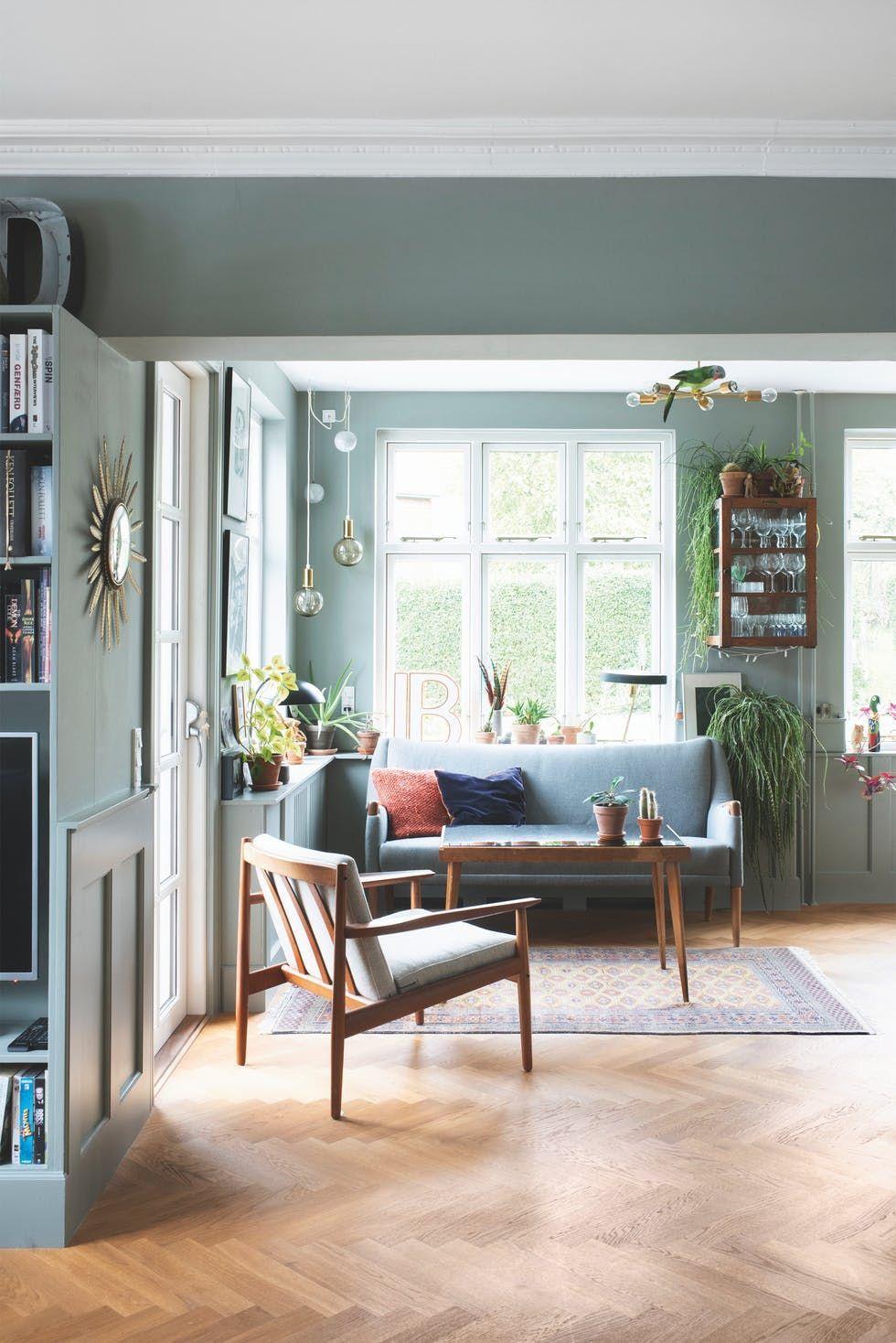 Un Colorido Vintage En Hogar En Dinamarca Casas Vintage