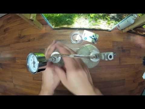 DIY CO2 system for aquarium - citric acid + baking soda - YouTube