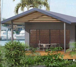 One Bedroom Kit Home Cottage House Designs Quarter House Australian House Plans