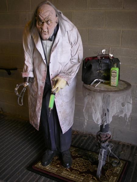 mad scientist prop {thinking you may only have to buy the mask and - scary halloween props