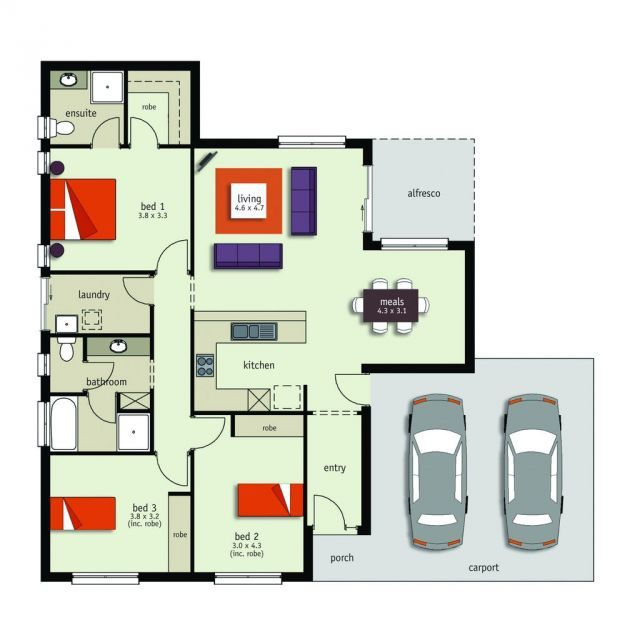 Dalesford alfresco hickinbotham homes house ideas for Beach house designs adelaide