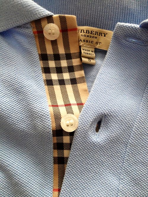 Burberry Polo Shirt  4d9eacb22e