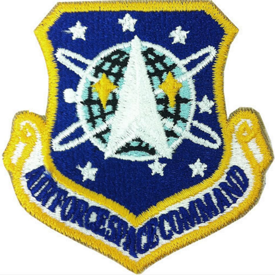 AIR FORCE PATCH SPACE COMMAND COLOR