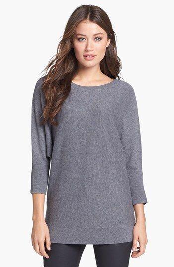 Amber Sun Dolman Sleeve Sweater available at #Nordstrom - Medium - Heather Oatmeal and Medium Heather Gray