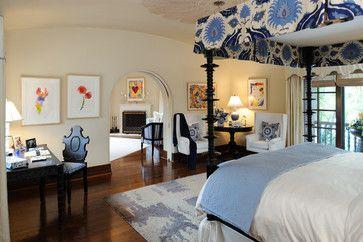 Pasadena Showcase House of Design - mediterranean - Bedroom - Los Angeles - Kathryne Designs, Inc