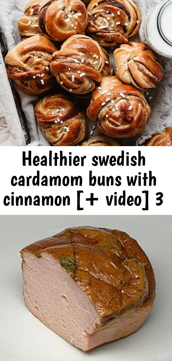 Healthier swedish cardamom buns with cinnamon [+ video] 3 #cardamombuns