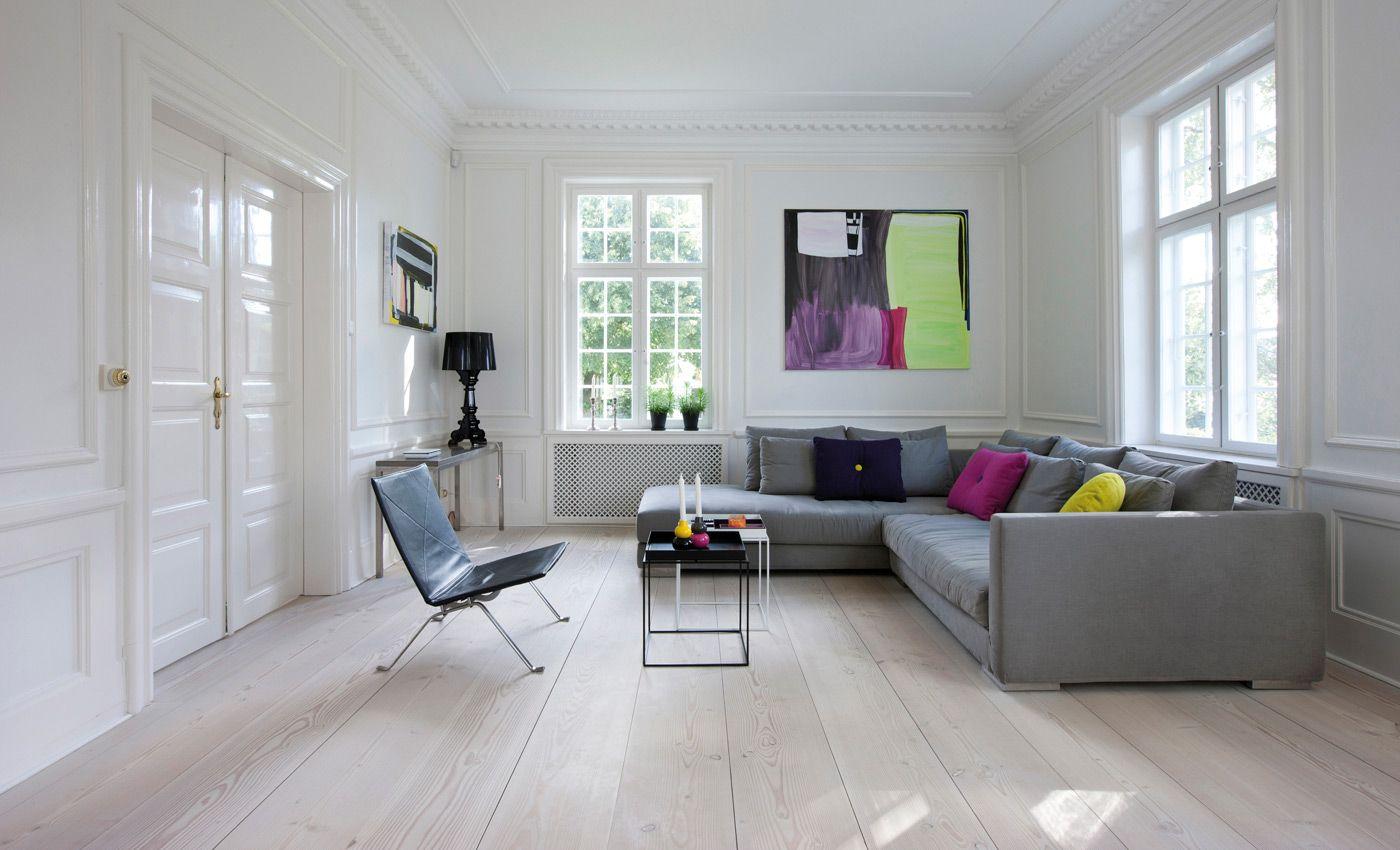 Schickes Wohnzimmer mit Douglasie Dielenboden | Wohnen | Pinterest ...