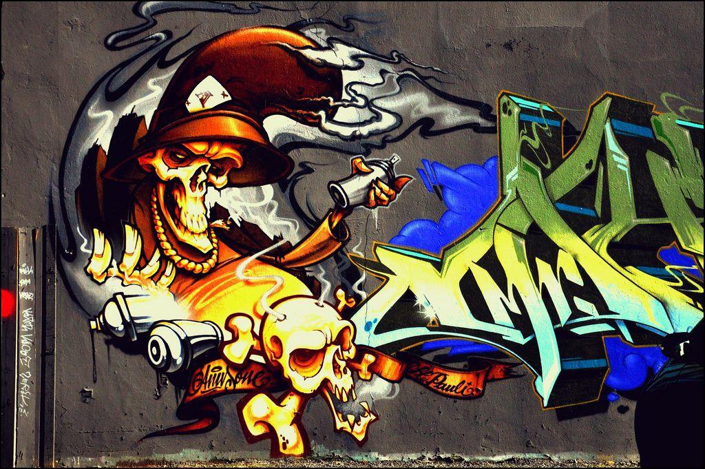 One Hamburg Street Smart Graffiti Hamburg Graffiti Artwork Street Art Graffiti