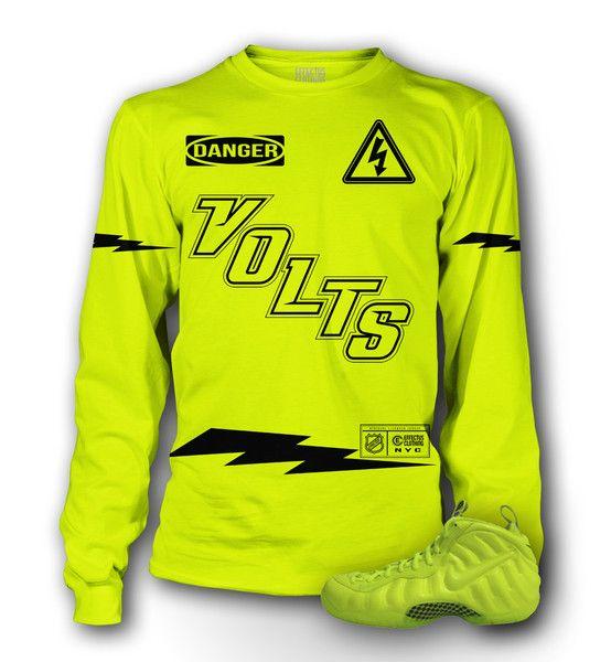 542278ce Volt Foamposite Shirt | Effectus Clothing Blog | Shirts, Foam ...