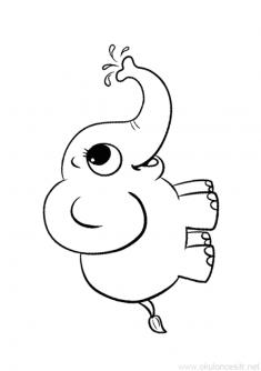 Fil Boyama Sayfasi Okuloncesitr Preschool Boyama Sayfalari Boyama Kitaplari Hayvanlar