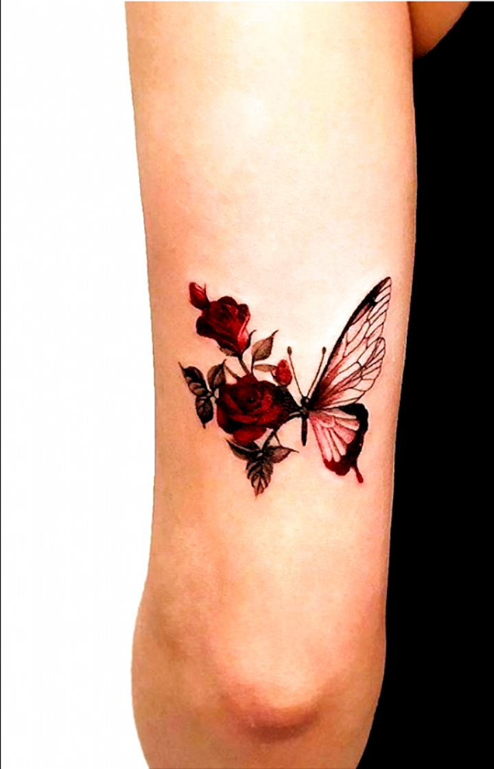 20 Simple And Beautiful Butterfly Tattoos Mainly For Your Fingers Backs And Arms The First Hand Fashion News For In 2020 Tattoos Butterfly Tattoo Rose Tattoo Design