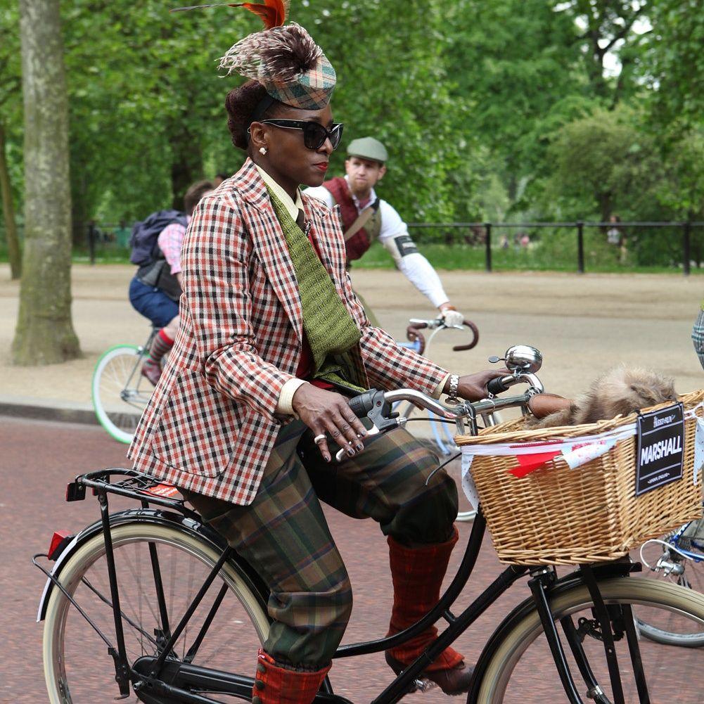 black girls on bikes london Google Search Tweed run