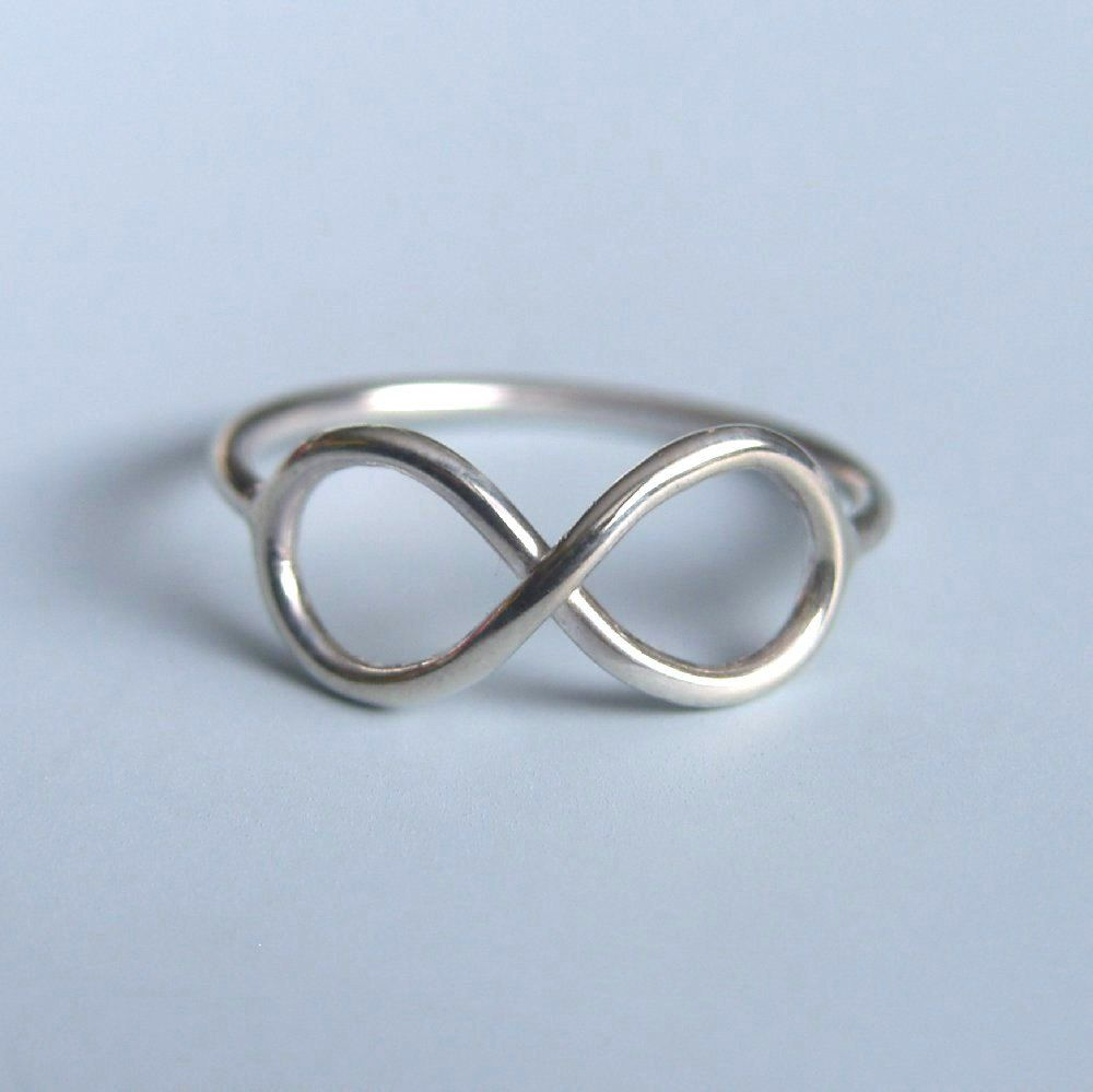 ss ring with silver infinity sterling diamond accent products