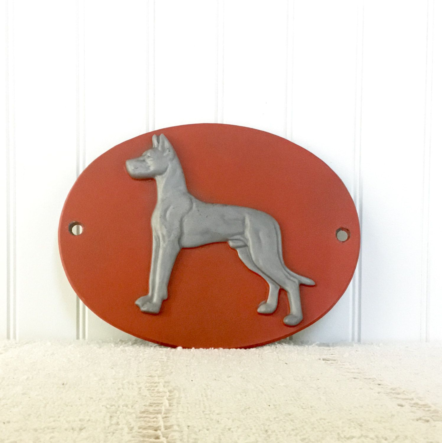 Great Dane Tractor Trailer Emblem Trucking Man Cave Decor Bright