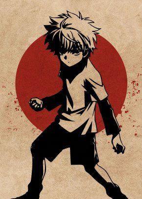 'Killua Zoldyck HxH' Metal Poster Print - Everything Anime | Displate
