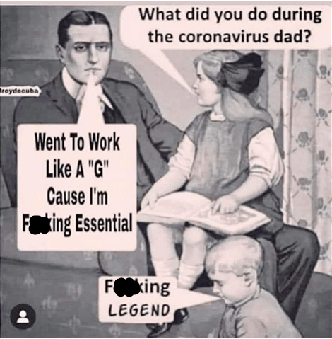 The Best Essential Worker Memes On The Internet Right Now Society19 Memes Going To Work Funny Memes