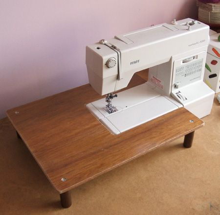 no diy instructions here but really doesnt table extender for your sewing machine polka pics