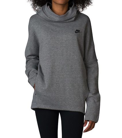 cb5a64b1b910e NIKE+Tech+Fleece+Pullover+hoodie+Long+sleeves+Zip+closure+Curved+ ...
