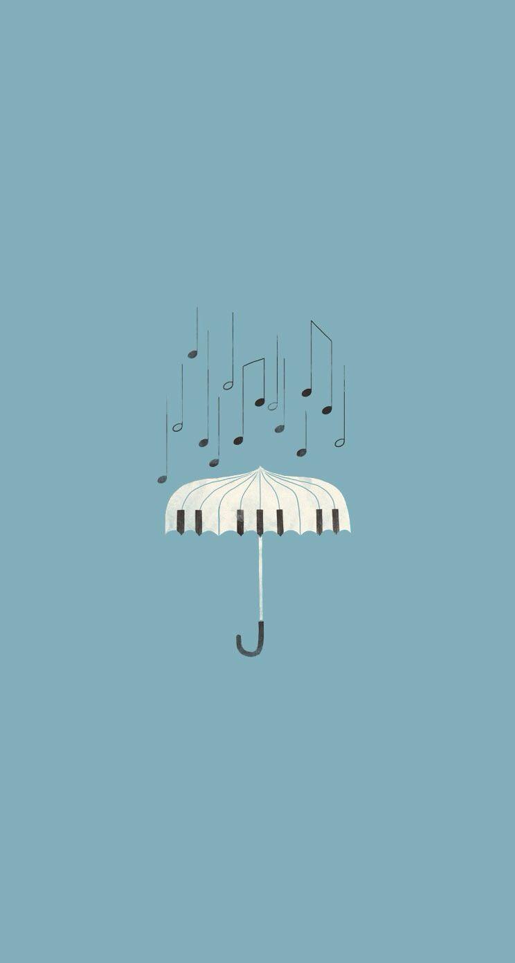 Rain Tone Iphone Wallpaper Mobile9 Music Illustration Art
