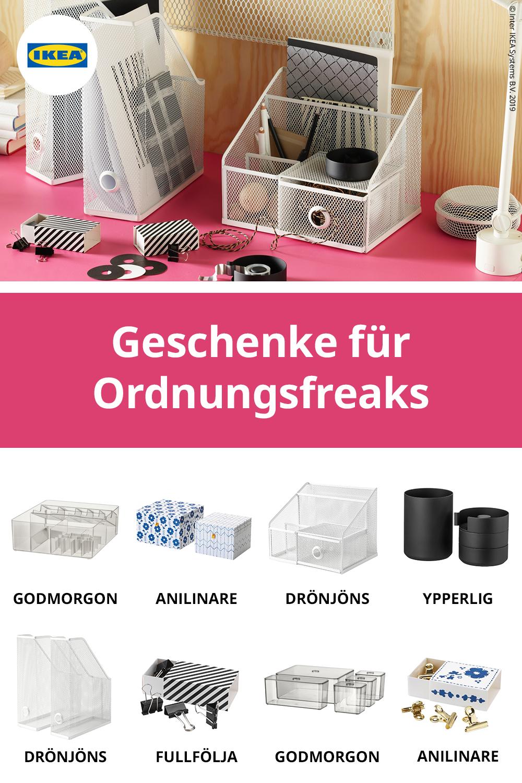 Geschenke Ideen von IKEA für Ordnungsfreaks