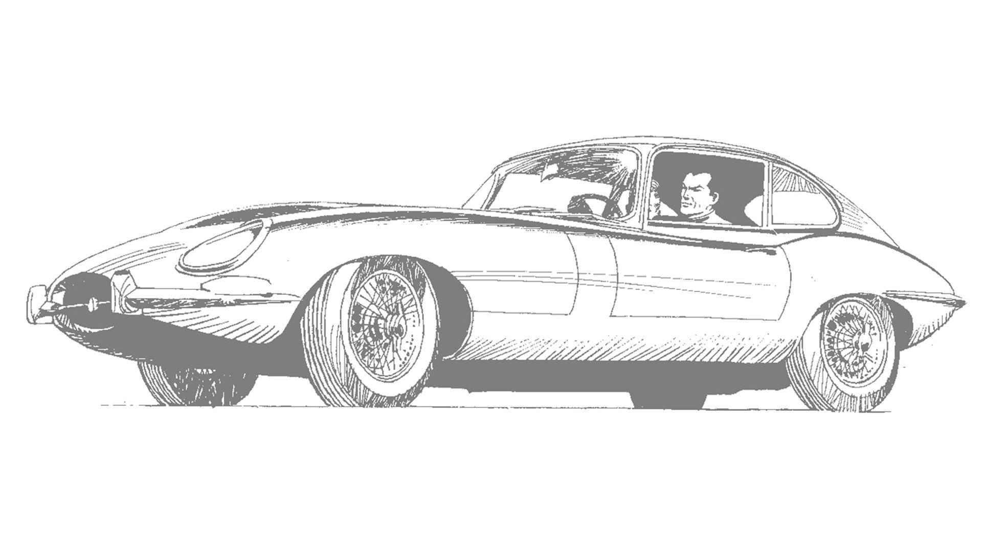 Perfect Anti Heroes Diabolik And The Jaguar E Type