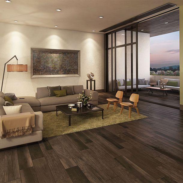 Piso oakland 20x90 cm gray daltile pisos marcas y for Losetas para piso interior