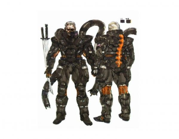 Solidus Snake's powered suit from Metal Gear Solid 2