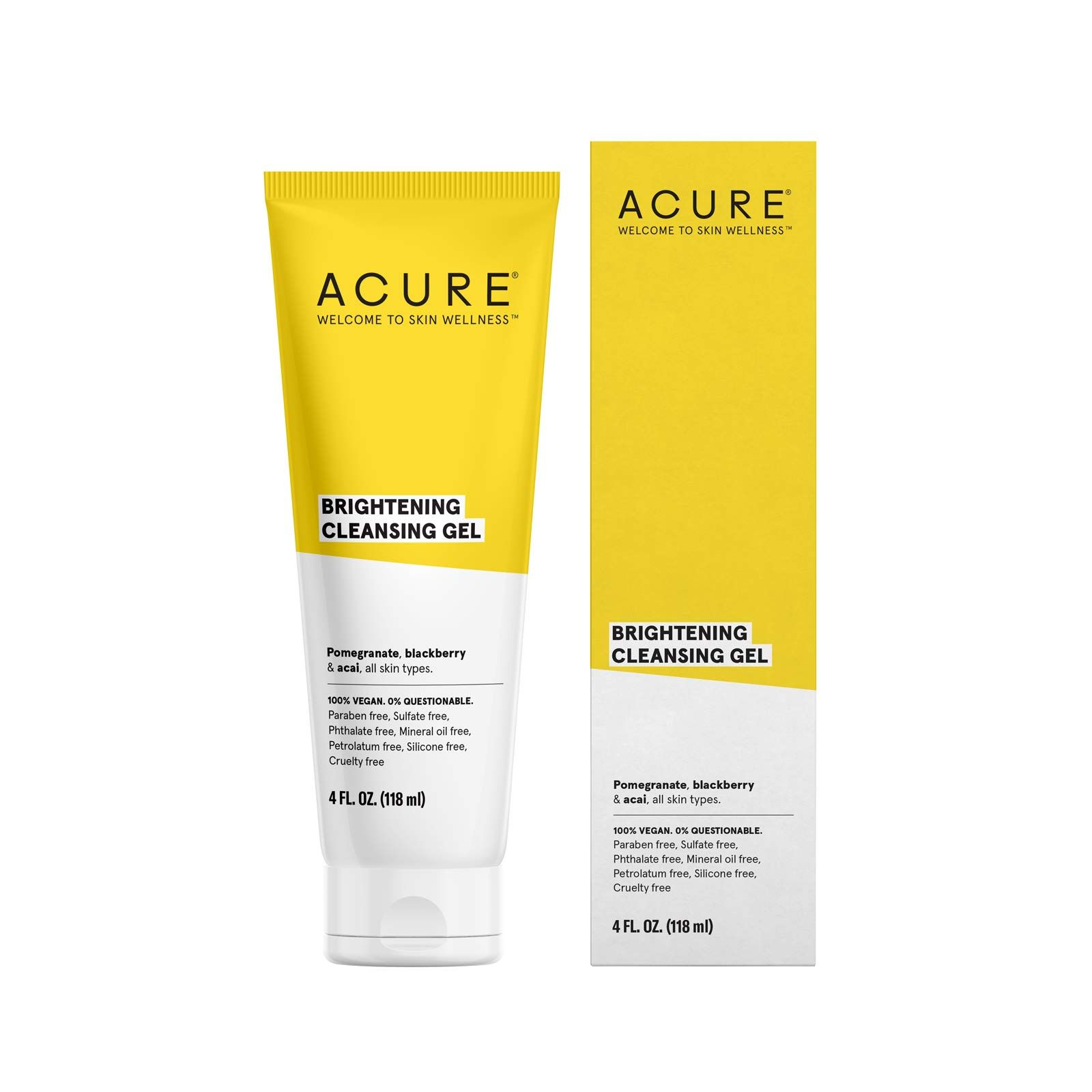 Amazon.com: ACURE Brightening Facial Scrub, All Skin Types