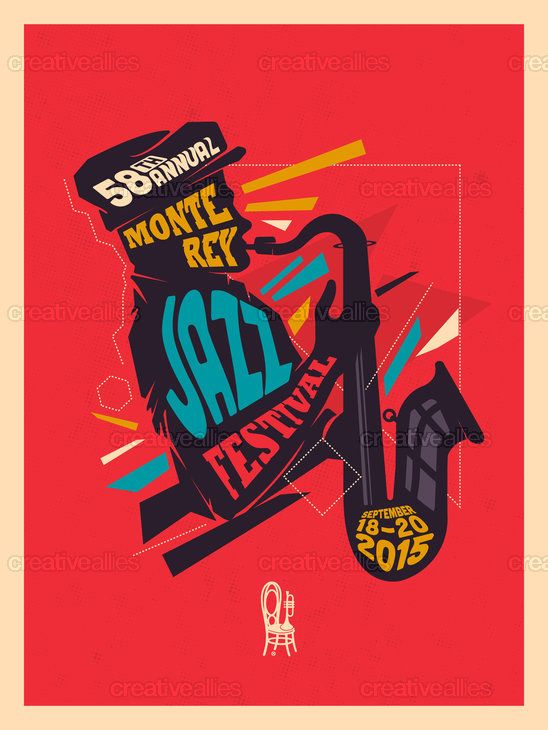 Monterey Jazz Festival Poster by Juan Felipe Amaya on ...