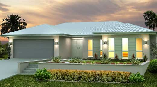 Austart Home Designs: Keppel 234-BLC-2600. Visit www.localbuilders.com.au to find your ideal home design in Tasmania