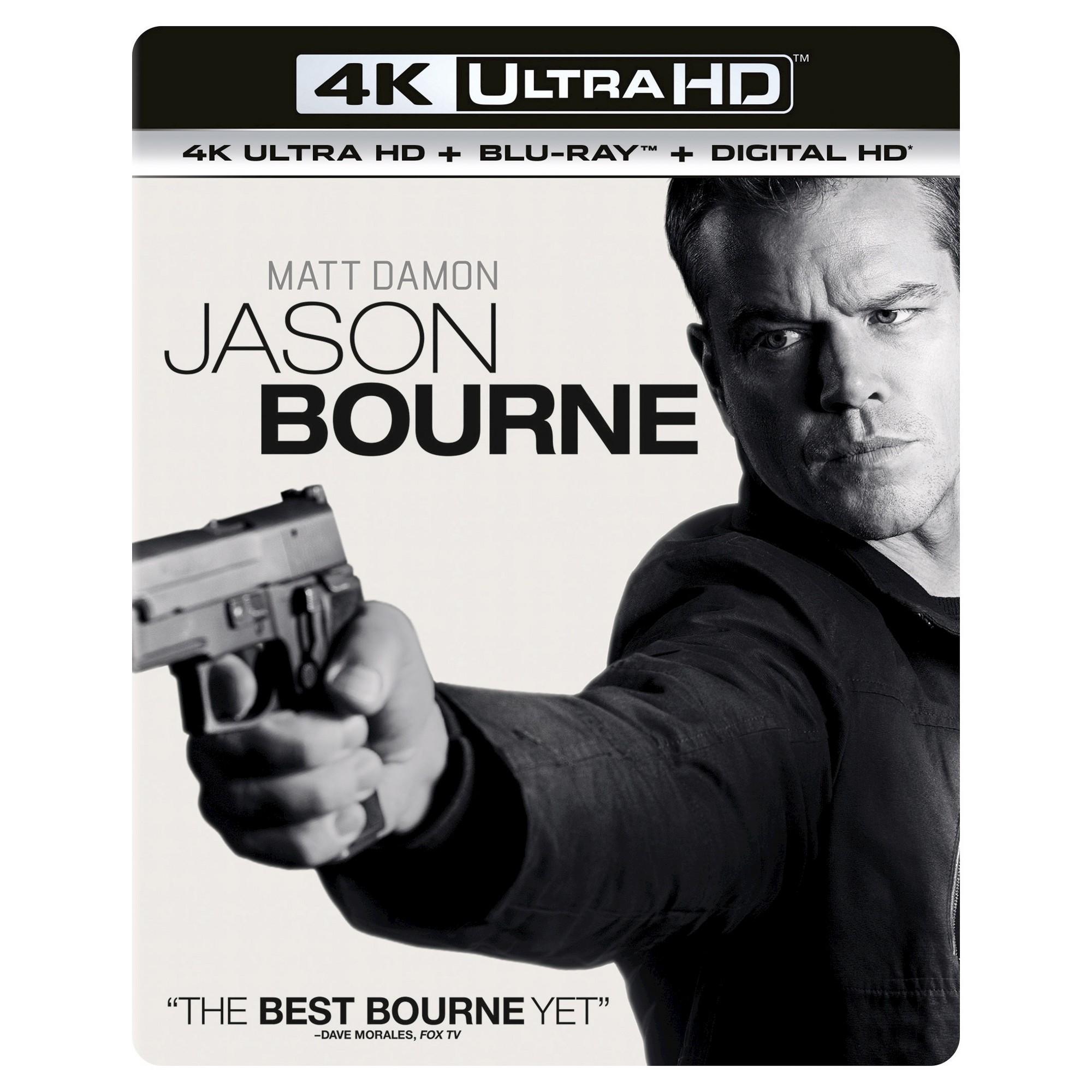 Jason Bourne 4k Uhd Jason Bourne Matt Damon Jason Bourne 2016