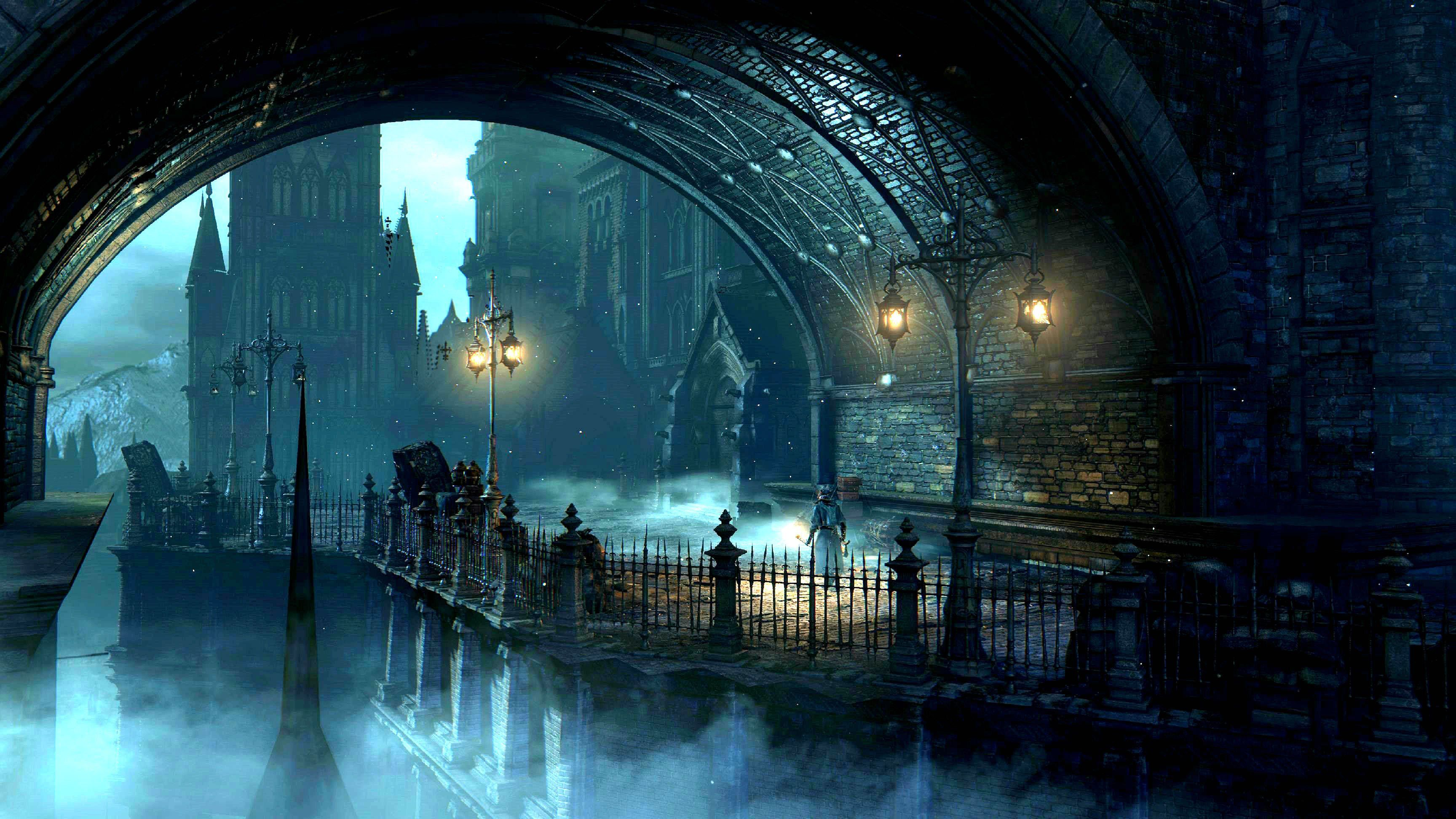 Bloodborne Rpg Action Fighting Gothic Survival Apocalyptic Dark