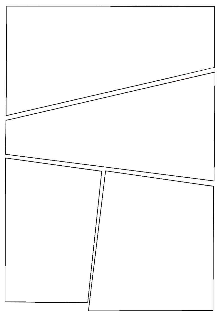 Blank Comic Page 1 By C0nn0rman43iantart On Deviantart
