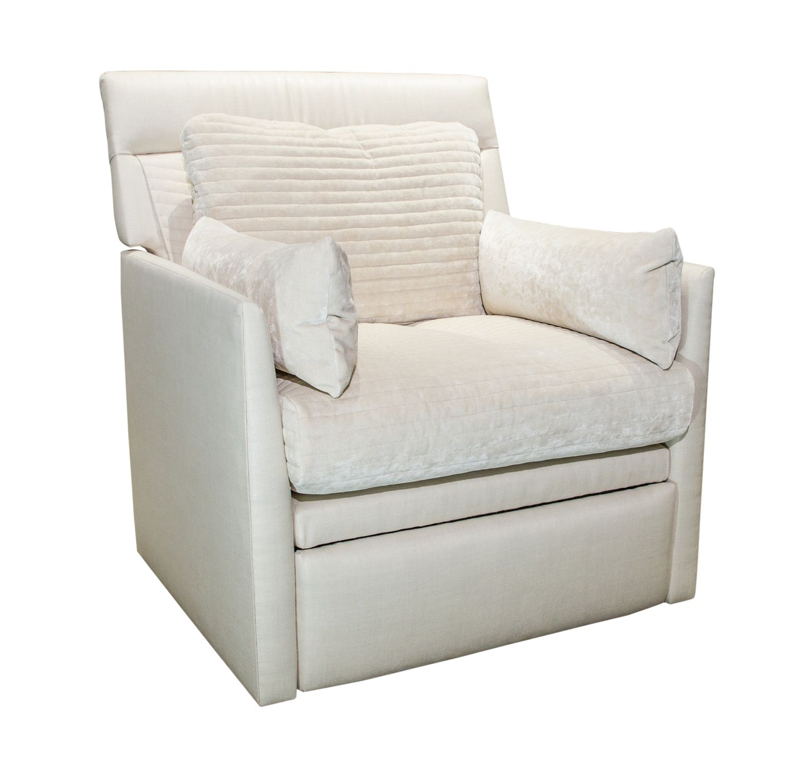 High Back Recliner Traditional, Leather, Upholstery Fabric, Wood, Seating  By Saladino Furniture