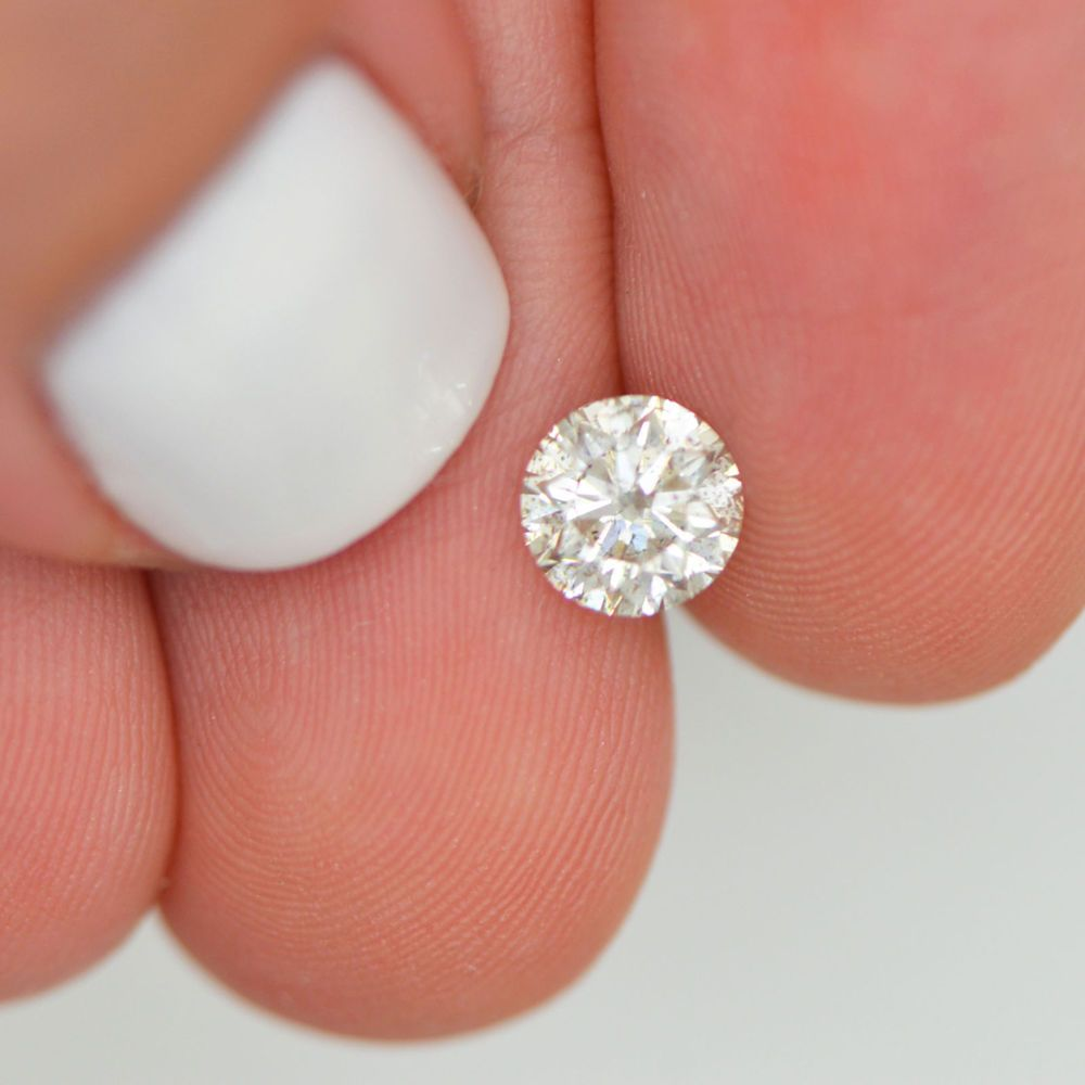 1.02 Carat I SI3 Round Shaped Natural Loose Real Diamond For ...