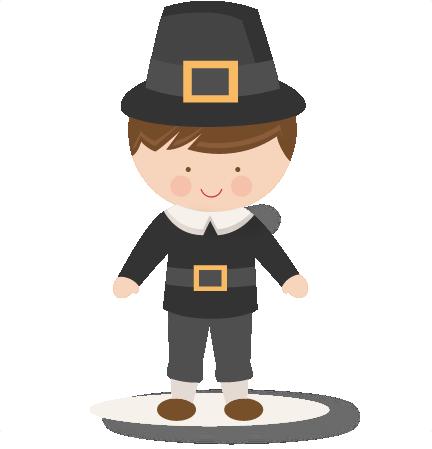 thanksgiving boy pilgrim svg scrapbook cut file cute clipart files rh pinterest co uk free pilgrim clipart free pilgrim hat clipart