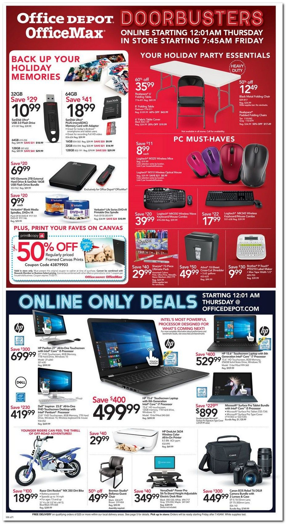 Office Depot Black Friday 2017 Ads and Deals Get